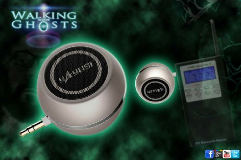 Mini Speaker 02 for Spirit Box PSB7 EVP MP3 Rechargeable USB Ghost Hunt